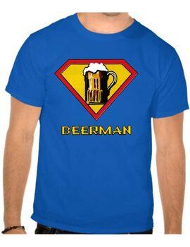 Χιουμοριστικό Funny μπλουζάκι με στάμπα Beerman