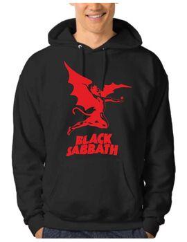 Μπλούζα Φούτερ με κουκούλα Black Sabbath Hoodie
