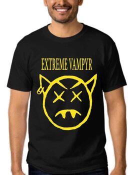 Μπλουζάκι με στάμπα Extreme Vampyr Nirvana