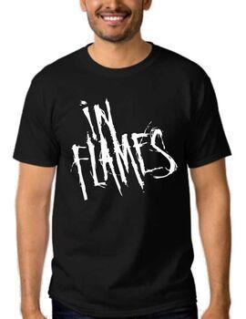 Mπλουζάκι με στάμπα Death Metal In Flames