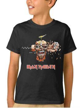 Παιδικό μπλουζάκι με στάμπα Iron Maiden Can I Play With Madness