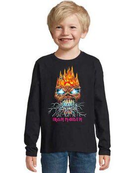Παιδικό μπλουζάκι με στάμπα Iron Maiden