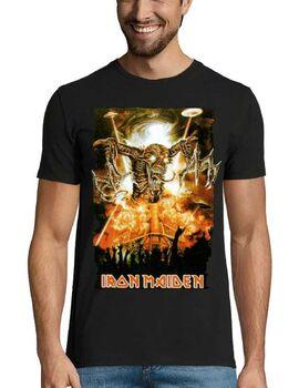 Heavy metal t-shirt με στάμπα Iron Maiden Fear of the Dark
