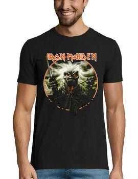 Heavy metal t-shirt με στάμπα Iron Maiden California Highway