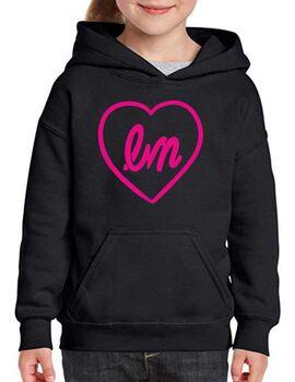 """Μπλούζα Φούτερ με κουκούλα Little Mix """"LM Heart Logo"""" Hoodie"""