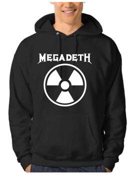 Μπλούζα Φούτερ με κουκούλα Megadeth Rust In Peace Radioactive Hoodie