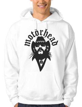 Μπλούζα Φούτερ με κουκούλα Motorhead Lemmy Hoodies