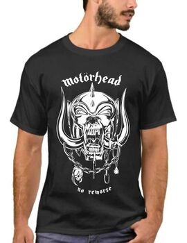 Heavy metal t-shirt με στάμπα Motohead no remorse