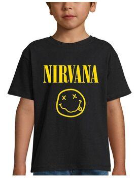 Παιδικό μπλουζάκι με στάμπα Nirvana