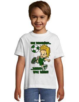 Παιδικό μπλουζάκι με στάμπα Ολυμπιακός πάππου προς πάππου