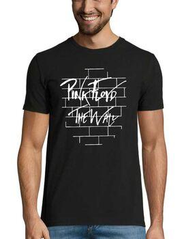 Rock t-shirt με στάμπα Pink Floyd The Wall