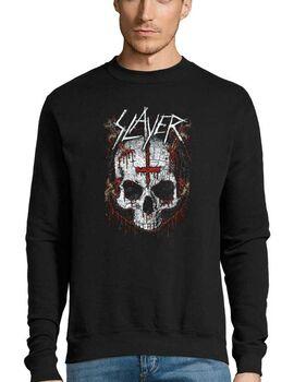 Μπλούζα Φούτερ με στάμπα Slayer Ritual Skull