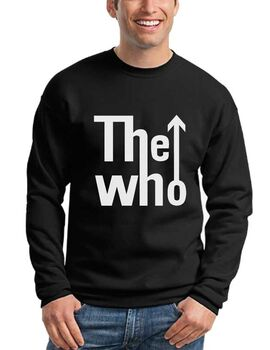 Μπλούζα Φούτερ με στάμπα The Who Band Logo