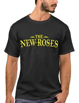 Rock t-shirt με στάμπα The New Roses