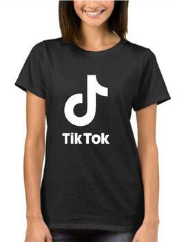 Μπλούζα t-shirt  με στάμπα Tik Tok