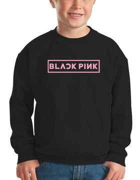 Mπλούζα φούτερ με στάμπα Blackpink