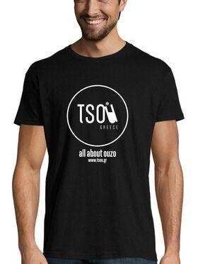 """""""Τα πάντα για το ούζο"""" / """"All about ouzo"""" T-shirt (by tsou.gr)"""