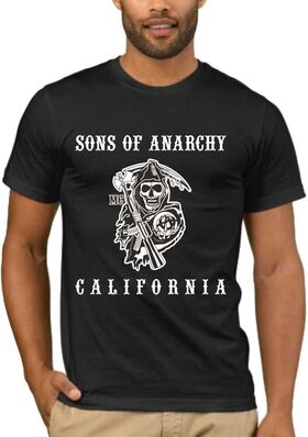 Μπλουζάκι με στάμπα sons of anarchy