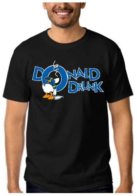 Αστεία T-shirts Donald Drunk