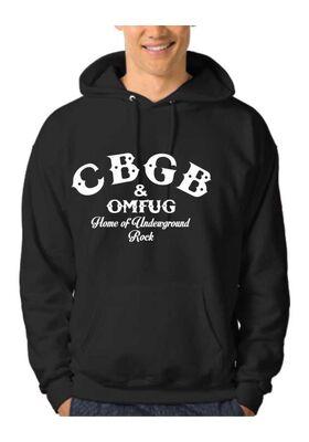 Μπλούζα Φούτερ Hoodie CBGB OMFUG Underground Rock Club
