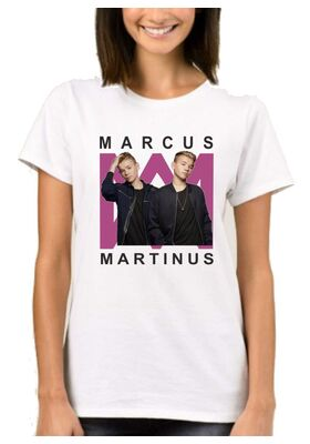 Μπλούζα με στάμπα Marcus & Martinus