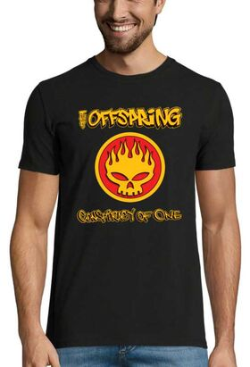 Rock Punk  t-shirt με στάμπα The Offspring Conspiracy of One