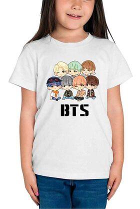 Mπλούζα με στάμπα BTS Cartoon