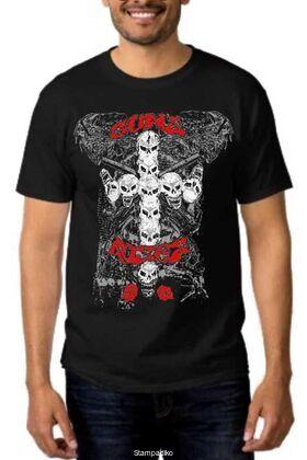 Rock t-shirt με στάμπα Guns N' Roses