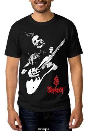 Rock t-shirt με στάμπα Slipknot Jim Root