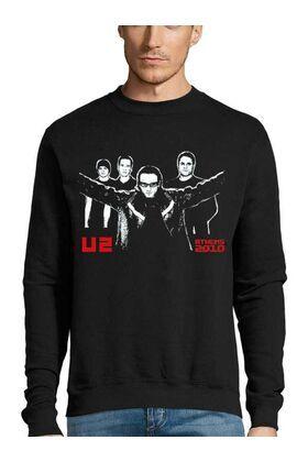 Μπλούζα Φούτερ με στάμπα U2 Achtung Baby