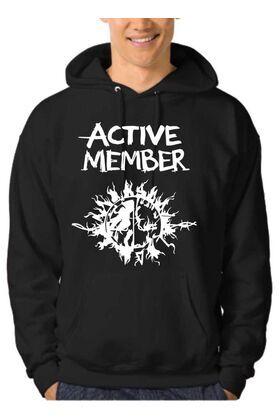 Μπλούζα Φούτερ Hooded Active Member