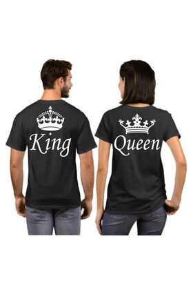 T-shirts King and Queen