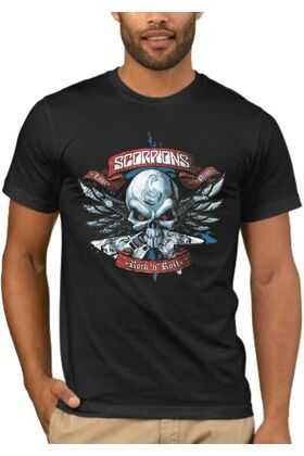Rock t-shirt SCORPIONS DJ1403