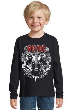 Παιδικό μπλουζάκι με στάμπα AC/DC
