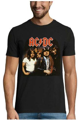 Rock t-shirt με στάμπα AC/DC Highway to Hell