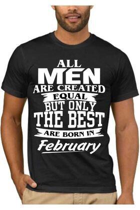 Μπλούζα T-shirt με στάμπα All Men Are Created Equal But Only The Best Are Born In September Birthday