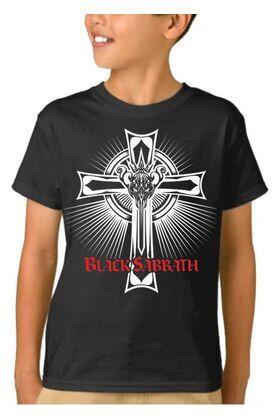 Παιδικό μπλουζάκι με στάμπα  Black Sabbath The Rules Of Hell
