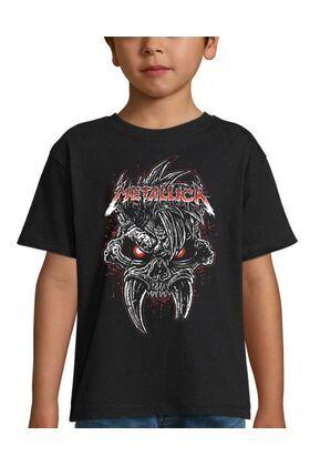 Παιδικό μπλουζάκι με στάμπα Metallica