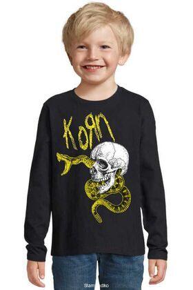 Παιδικό μπλουζάκι με στάμπα Korn