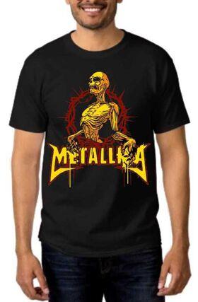 Rock t-shirt Metallica Los mejores