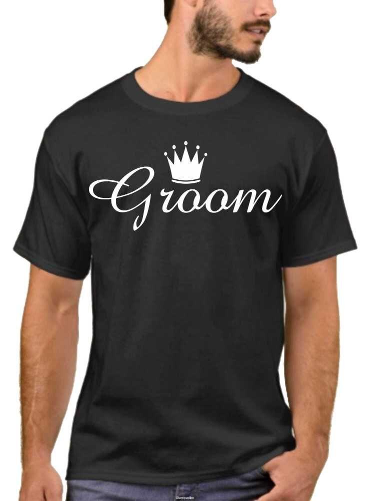 6d2fad8a269d ΜΠΛΟΥΖΕΣ ΜΕ ΣΤΑΜΠΕΣ    Μπλουζάκια Bachelor Party T-Shirt BRIDE GROOM ...