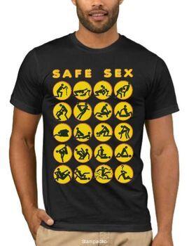 Αστεία T-shirts Safe Sex
