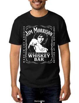 Rock t-shirt Jim Morrison The Doors Show Me Next Whiskey Bar