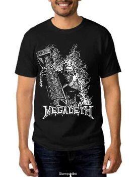 Rock t-shirt Black Megadeth Arsenal of Megadeth