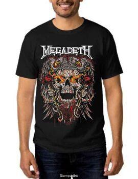 Rock Black t-shirt Megadeth