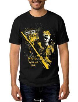 Rock t-shirt με στάμπα Jimi Hendrix Axis Bold As Love T-Shirt