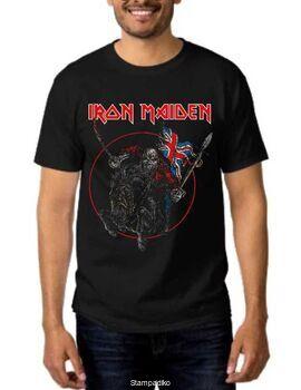 Heavy metal t-shirt με στάμπα Iron Maiden The Trooper