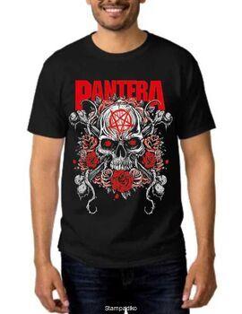 Rock t-shirt Pantera Skull