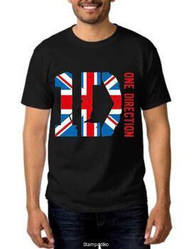 Pop Rock t-shirt με στάμπα One Direction