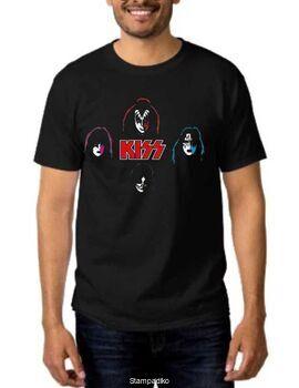 Rock t-shirt Kiss in my head